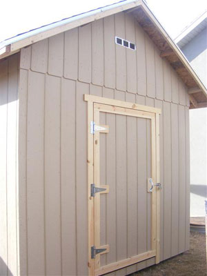 Bare Bones Shed ---Prices starting at $1190