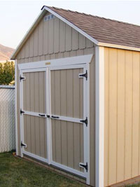 Basic Shed --Prices starting at $1390