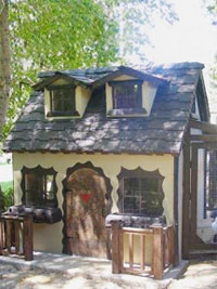 Playhouse style chicken coop- Prices starting at $2,790