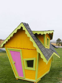 Crazy Crooked Playhouse - Starting at $1590